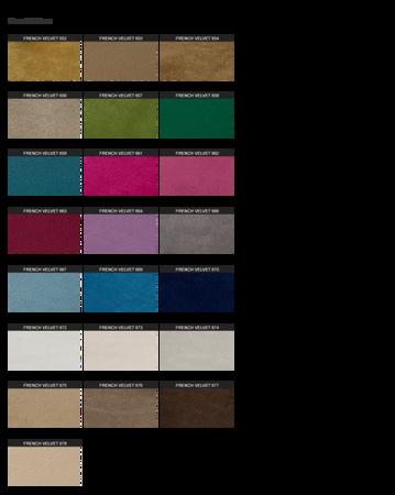 Ławka ze schowkiem Skrzynia z Teleskopem Pikowana Tapicerowana Granatowa French Velvet 670 Nogi proste kwadratowe czarne półmat, Guziki tapicerowane 80cm/40cm/48cm