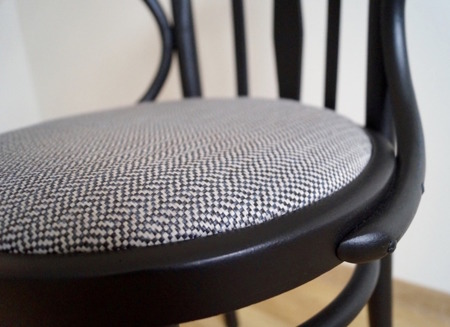 Unikatowe Krzesło Fotele Drewniany Gięty Thonet lata 30-te Vintage